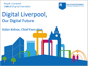 View Aidan's Keynote Presentation on Digital Liverpool, Our Digital Future (opens in a new window or tab)