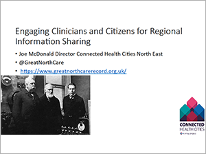 View Joe's Keynote Presentation on Engaging Clinicians and Citizens for Regional Information Sharing (opens in a new window or tab)