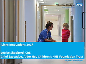 View Louise's Keynote Presentation on Alder Hey becoming a GDE (opens in a new window or tab)