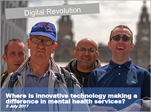 View David's keynote presentation about innovative technology making a difference in mental health (opens in a new window or tab)